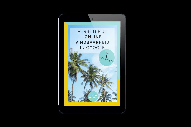 E-book cover van Verbeter je online vindbaarheid in Google